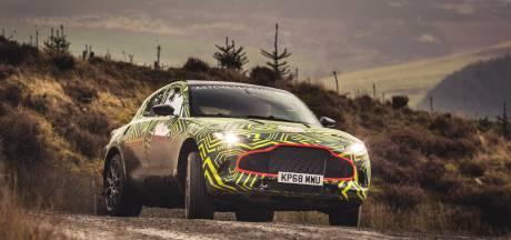Aston Martin SUV voor het eerst in beeld en hij gaat DBX heten