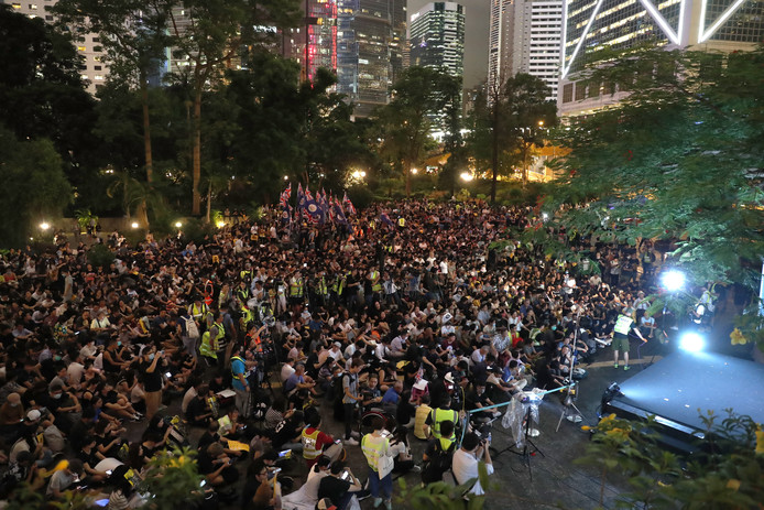 Disney is ongewild onderdeel geworden van de aanhoudende protesten in Hongkong.
