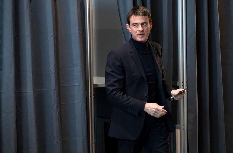 Manuel Valls haalde het niet.