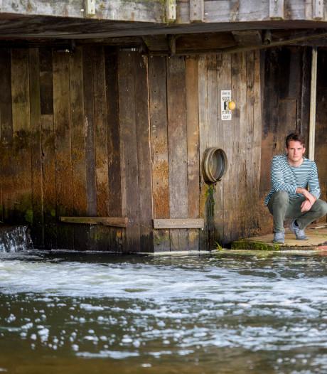 Bijna werd zijn geliefde water Maarten Hermans (26) uit Waalre fataal