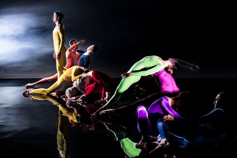Cunninghams idee van dans staat in de documentaire centraal. Beeld