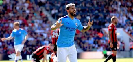City maakt dankzij goals Agüero geen fout bij Bournemouth