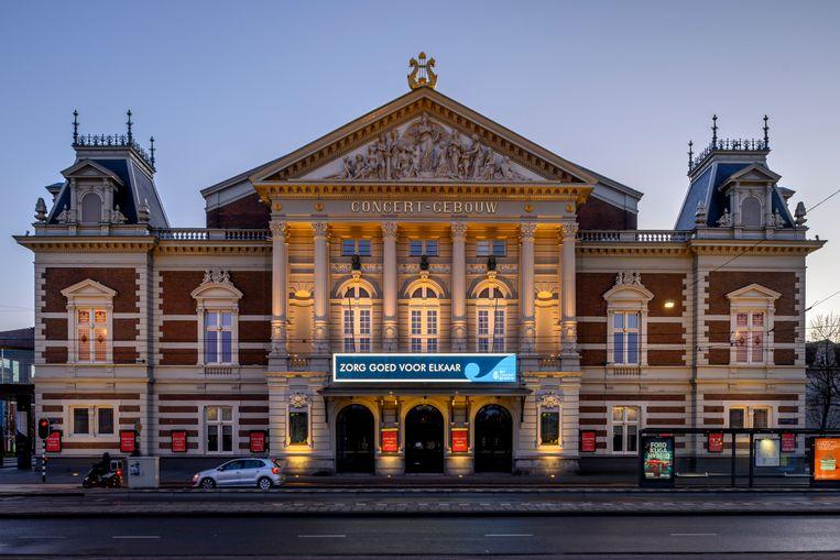 Het Concertgebouw in Amsterdam. Beeld Co de Kruijf