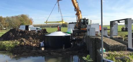 Nieuwste model vispassage in Almkerk waakt over waterkwaliteit en soort vissen