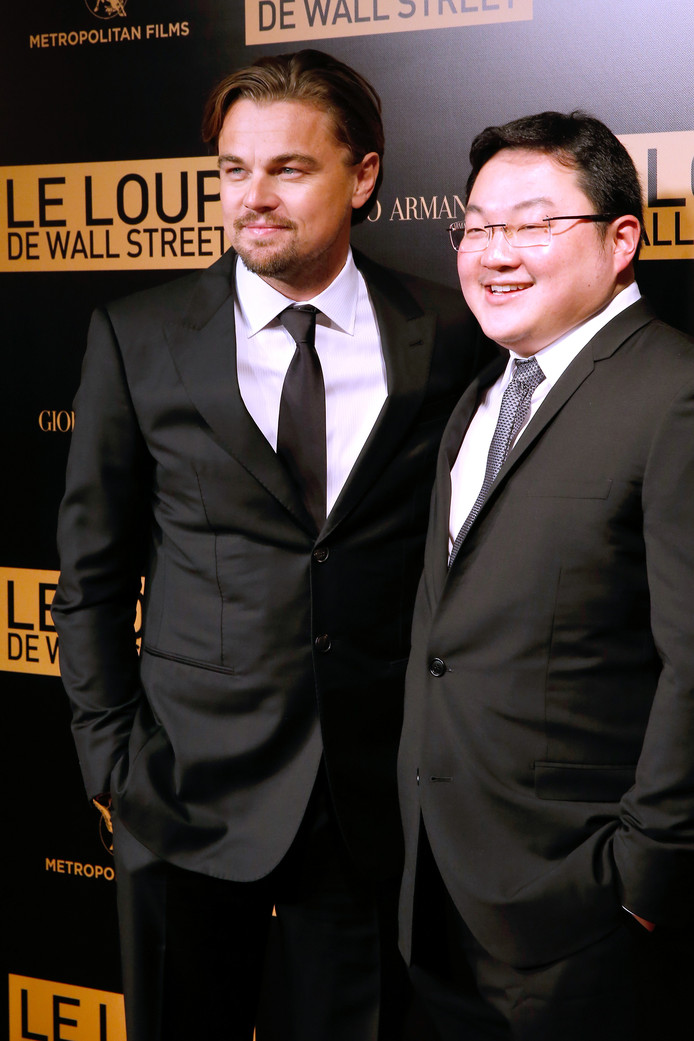 Jho Low met The Wolf Of Wall Street-acteur Leonardo DiCaprio.