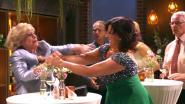 Marianne (Leah Thys) gaat over de rooie in 'Thuis': vechtpartij verbrodt huwelijksfeest van Rosa