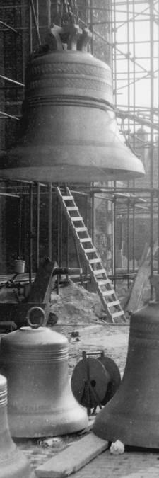 Eerste carillon hing er kort