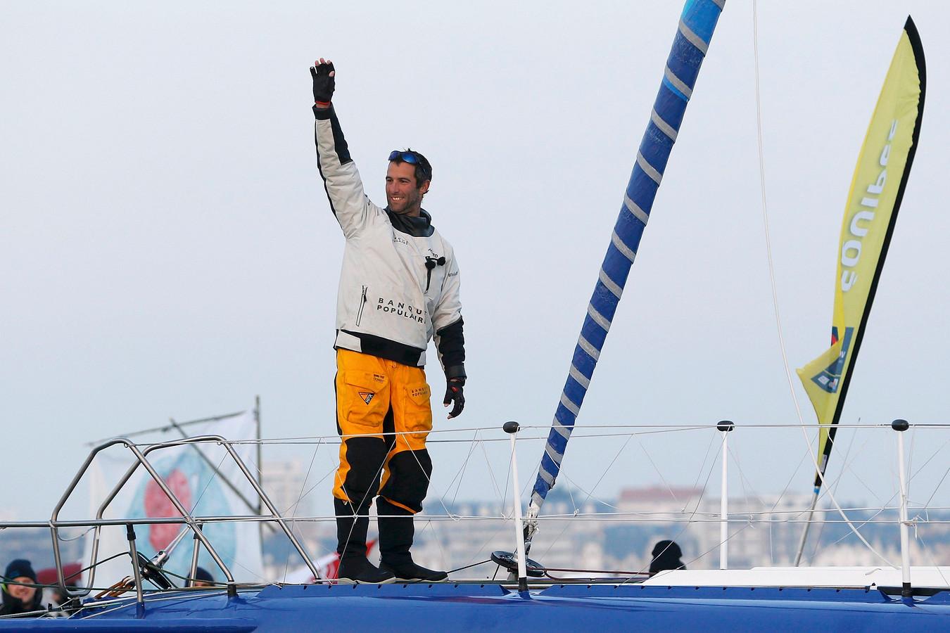Franse zeiler in recordtijd naar zege in non stop solorace om de wereld foto - Aurelie le cleac h ...
