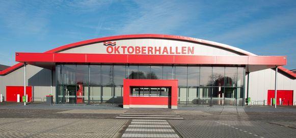De Oktoberhallen in Wieze.