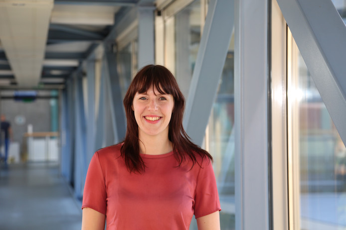 Onderzoeker Jolien Dopmeijer van hogeschool Windesheim.