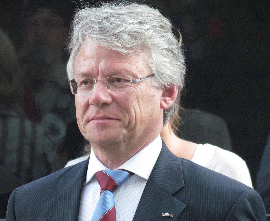 De burgemeester van Apeldoorn, John Berends.