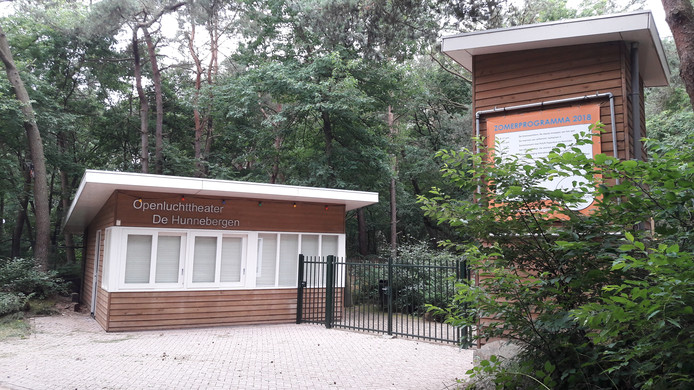 Openluchttheater De Hunnebergen in Luyksgestel.