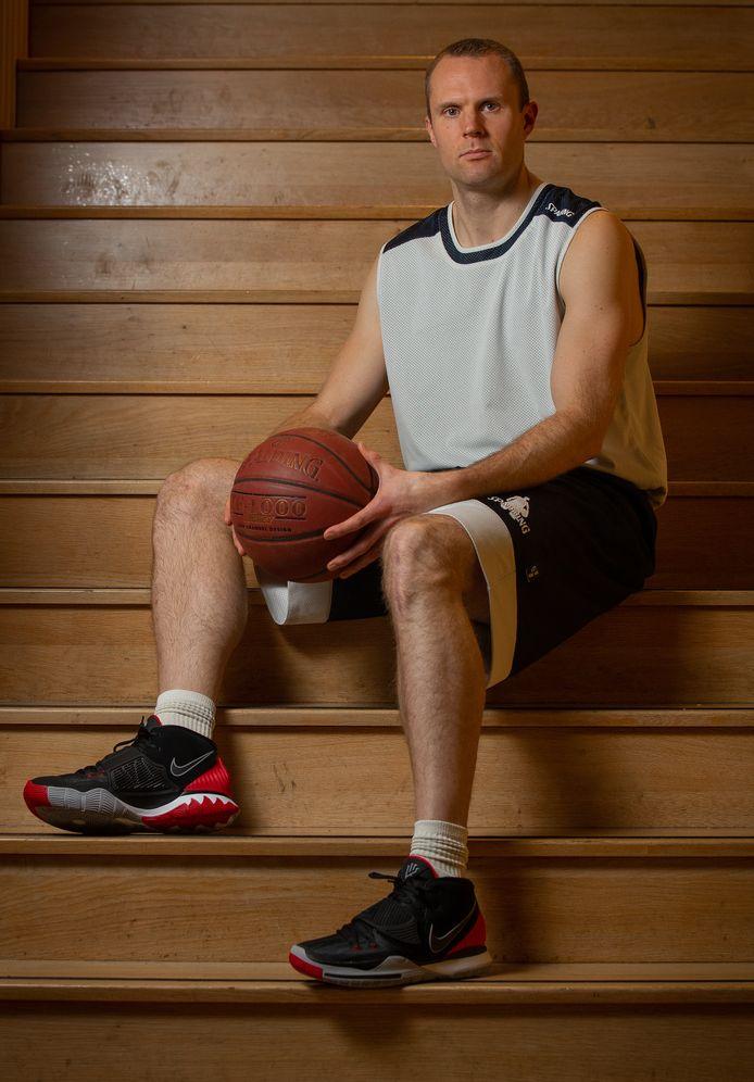 Olaf Janssen van basketbalclub Wyba.