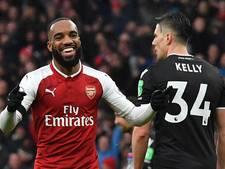 Arsenal maakt in 22 minuten gehakt van Crystal Palace