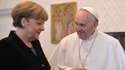 Paus en Merkel maken kans op Nobelprijs voor de Vrede