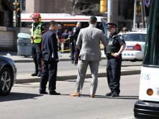 Politieagent oog in oog met dader aanslag Toronto, maar schiet niet