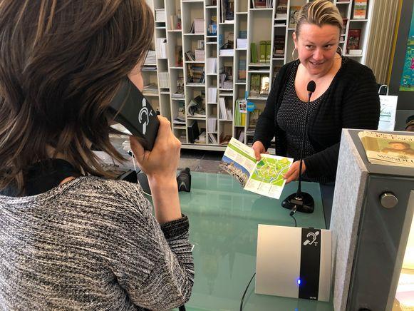 Door een ringleiding is Visit Veurne ook bereikbaar voor personen met een hoorapparaat.