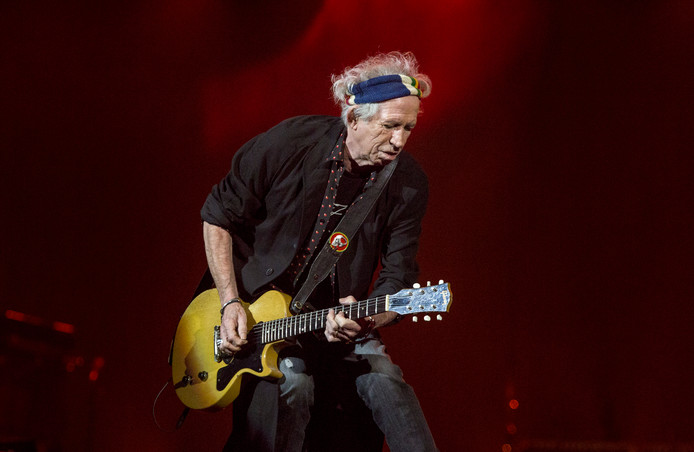 Rolling Stones Amsterdam Arena Keith Richards