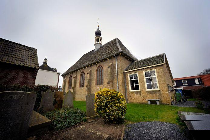 De protestantse kerk in Nieuw-Vossemeer.
