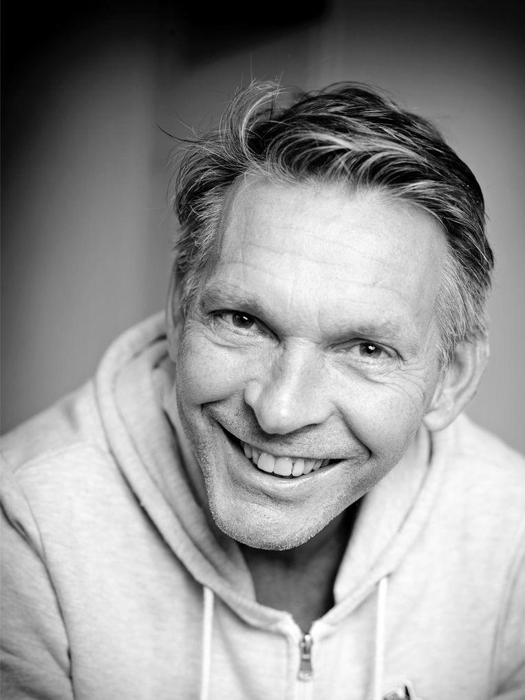 Wim Bloemers - Bewoner van de Overtoom. Beeld -