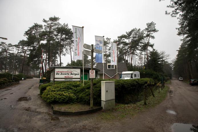 Camping De Zwarte Bergen in Luyksgestel.
