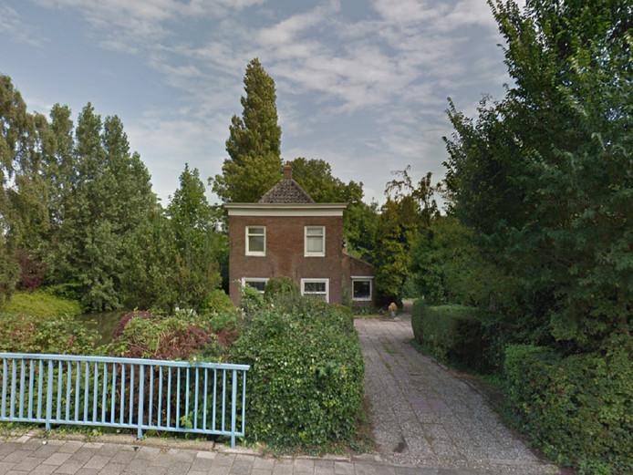Het tuindershuis aan de Kruisweg in Naaldwijk.