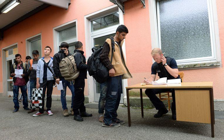 Op het hoogtepunt van de vluchtelingencrisis  in zomer 2015 trokken honderdduizenden vluchtelingen naar Duitsland. (archieffoto)