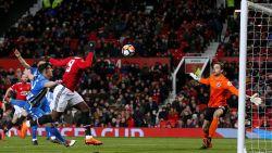 Daar is doelpunt 25: Romelu Lukaku knikt Man United naar halve finales van de FA Cup