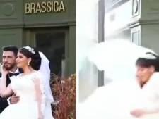 Les images de jeunes mariés posant pour des photos au moment des explosions de Beyrouth