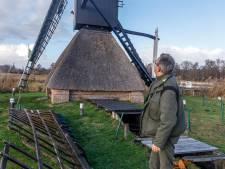 'Linksom of rechtsom, deze molen in Kalenberg gaat weer draaien'