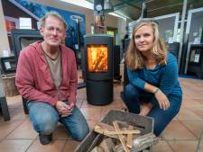 Els Themmen uit Laag-Soeren hoopt dat stookalert de houtstokers aan het denken zet