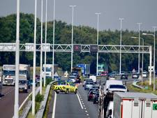 Ongeluk op A58 bij Moergestel; file opgelost
