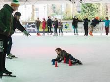 Sneeuw verpest ijsshow van Winter Village Oisterwijk