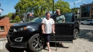 Annick (52) verloor drie jaar geleden een been. Haar aangepaste wagen geraakt al een jaar lang niet door de keuring