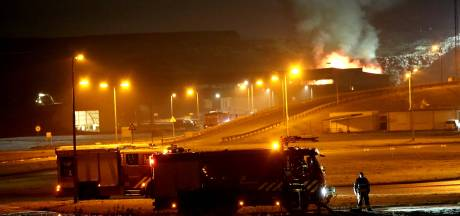 Flinke brand bij afvalverwerker Attero in Tilburg
