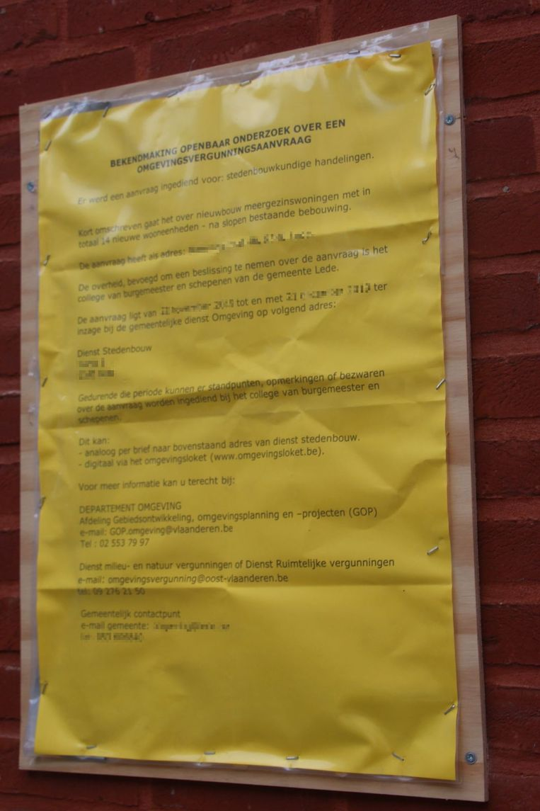 bouwaanvraag verguningsaanvraag bouwvergunning omgevingsvergunning omgevingsvergunningaanvraag openbaar onderzoek