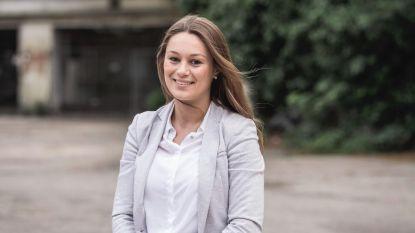 Stephanie is de jongste kandidaat op de federale sp.a-lijst van Antwerpen