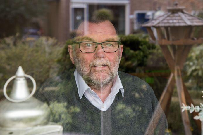 Henk Vis uit Nunspeet belandde door het coronavirus in het ziekenhuis, maar