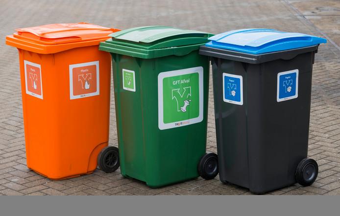 Gescheiden inzameling van afval, dat moet volgens de PvdA ook in Hardenberg kunnen.