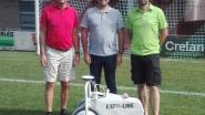 Sportdienst kan voortaan met robot  sportvelden belijnen