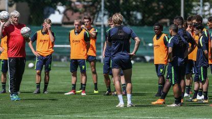 STVV heeft eerste training achter de rug