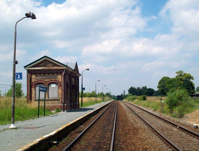Station Balegem-Zuid.