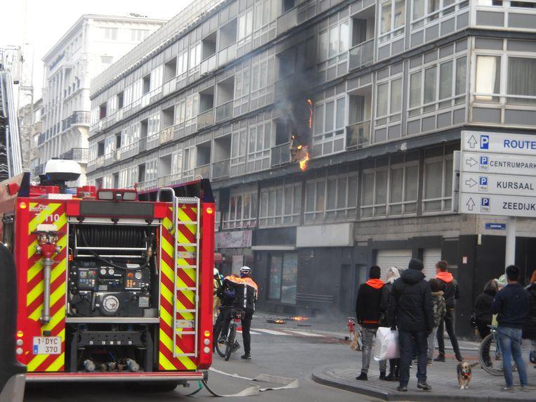 Het ging om een uitslaande brand.