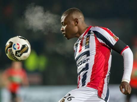 Willem II wil door met Derrick Tshimanga