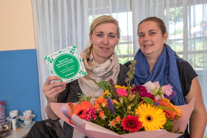 Beste buur Brabant, Leonie Verberne en Dorien van Hulten uit Geldrop