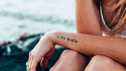 Nieuwe tattoo? Dan sport je beter enkele dagen niet