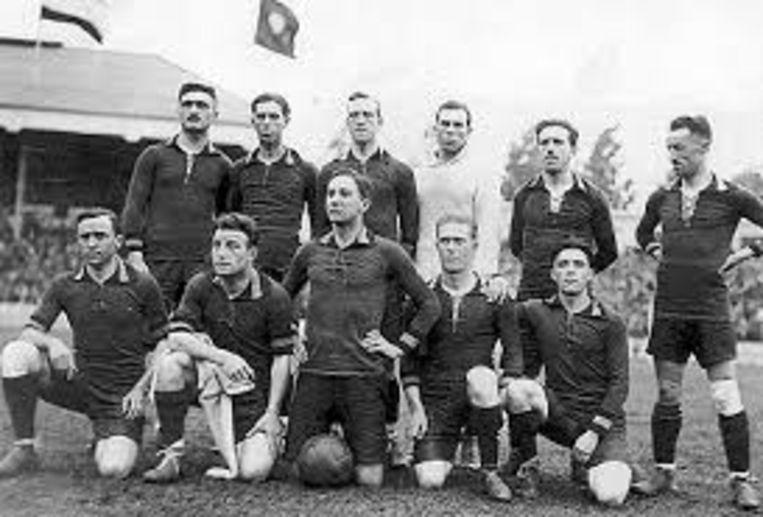 De Belgische olympische nationale voetbalploeg