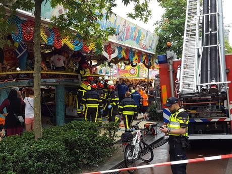 Jongetje (3) zwaargewond door ongeluk in attractie op Tilburgse kermis