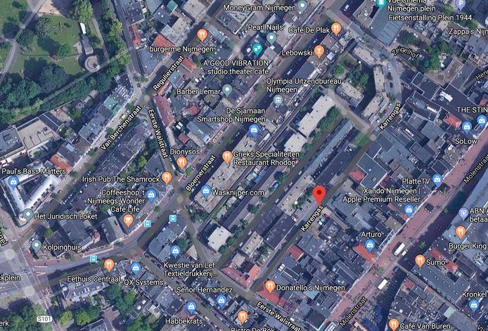 De Karrengas in het centrum van Nijmegen.