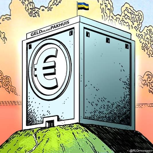De provincie Gelderland is te rijk. Ruim 4 miljard euro op de bank en het wordt alleen maar meer.